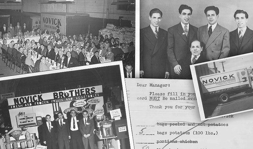 food distributors - Novick historic pictures - Novick Corporation - Pennsylvania